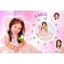 Reloj Souvenirs Con Foto Primer Añito Bautismo 15 Años 15x20