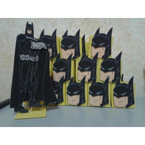 Ador. De Torta + 20 Golosineros De Batman O Gatubela A Elecc