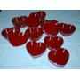 Cajas Plasticas Corazon-casamiento-15 Años-40 Años-50 Años