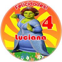 Fiona Shrek Cumpleaños Temático Invitaciones Fiesta