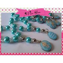Denarios Souvenirs De Perlas*angel De La Guarda Y Porfis X10