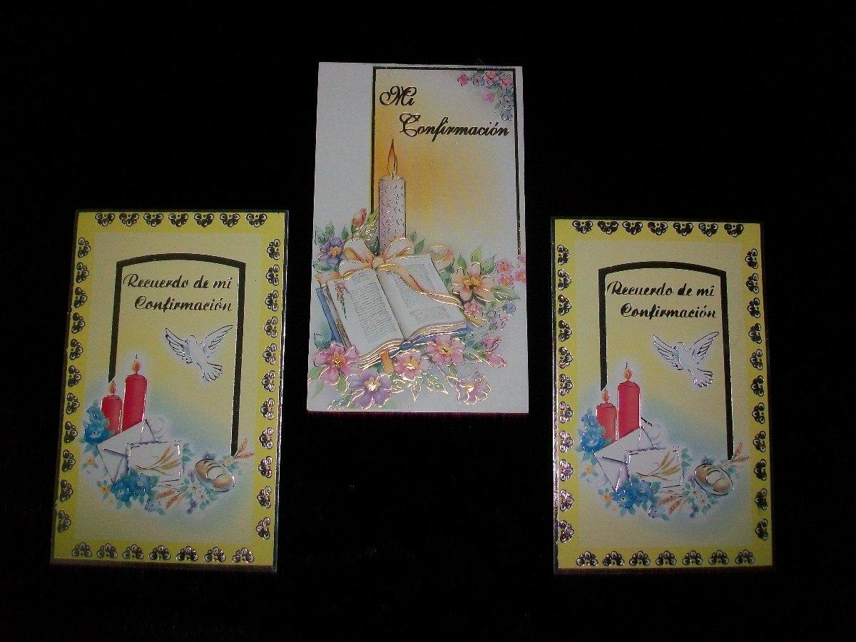 Tarjeta De Confirmacion Para Imprimir - Souvenirs para Comuniones ...
