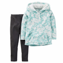 Carters Set Buzo De Micropolar Y Leggins