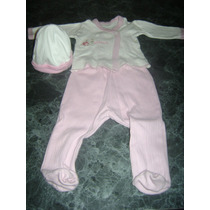Conjunto De 3 Piezas Para Beba Batita Gorro Y Pantalon