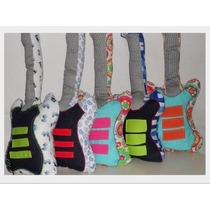 Almohadon Deco Guitarra Niños- Bebes