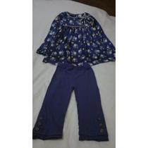 Conjunto De Beba De 2 Años Pantalon+camisola De Seda Fria
