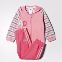 Conjunto Bebé Adidas Jogger Collegiat. Original Importado
