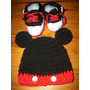 Conjuntos Mickey Y Minnie (gorro Y Zapatillas)