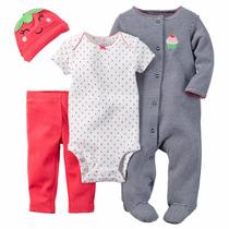 Conjuntos 4 Piezas Carter´s!! Hermosos Pijamas!!