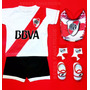 Kit River Bebe Camiseta+short+escarpines+medias+babero Boca