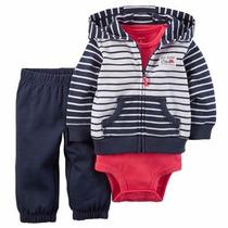 Conjuntos / Set Carters Cardigan Body Y Pantalón Varon