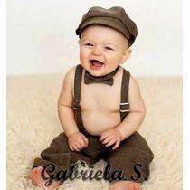 Conjunto Formal Bebé: Casamiento, Bautismo, Book De Fotos.