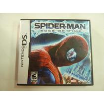 Juego Spider Man Edge Of Time Hombre Araña Nintendo Ds Orig