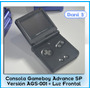 Gameboy Advance Sp Ags 001. Sin Rayas, Luz Frontal C/regalos
