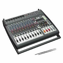 Consola Potenciada 16 Canales 1600 W Behringer Pmp4000