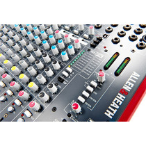 Consola Allen & Heath Zed-22fx 16 Canales