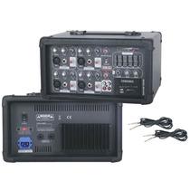 Blg Ma4100b Mixer Potenciado 4 Canales 100w Usb Cabezal Sd