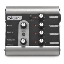 Ross Mx-4u - Micro Mixer, 4ch, 1mic+3 Instr, Usb