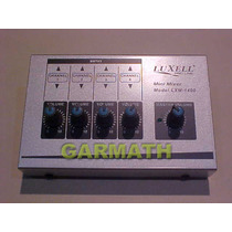 Mixer Consola 4 Canales Lxm1400 Para 4 Microfonos Garmath Dj