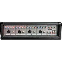 Consola Potenciada Fx Telefunken 4 Canales 150+150w Sb4200