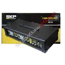 Consola Mixer Poten Skp Crx-415 Usb 4 Canales Musica Pilar