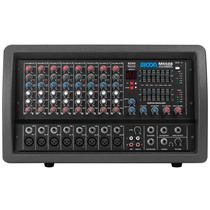 Consola Mixer Potenciada 8 Canales M5508 Moon
