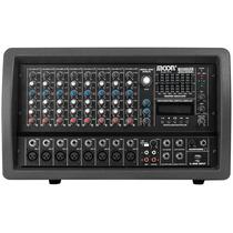 Consola Mixer Potenciada 8 Canales M5508usb Mp3/usb Moon