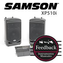 Samson Xp510i - Sistema De Sonido Portable Expedition