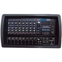 Consola Mixer Potenciado Moon M5508 8 Canales 2x100w