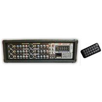 Consola Potenciada 8 Can Usb Y Sd Con Control Remoto - 300w