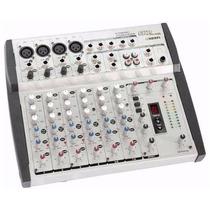 Skp Vz8 Fx Consola Mixer De 8 Canales Efectos Digita Phantom
