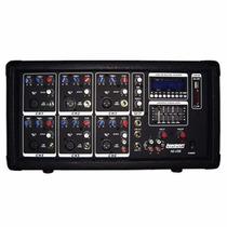 Consola Potenciada Lexsen A6usb - 6 Canales Usb 250w Mp3 Sd