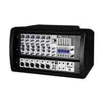 Consola Potenciada Skp Crx-626 500 Watts Rms 250 + 250