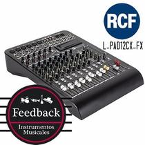 Rcf L-pad12cx-fx - mixer De 12 Canales Con Efectos