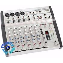 Consola De Sonido Skp Vz 8f X 4 Ch Mono + 2 Stereo Efectos