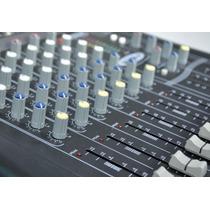 Consola Mixer De Sonido American Pro Black 14