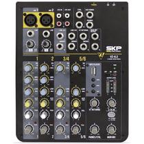 Consola Mixer Skp Vz 6.2 6 Canales Usb