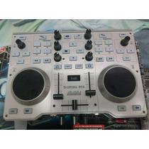 Oportunidad! Mixer Controlador Hercules Mk4+placa De Sonido