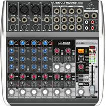 Behringer Qx1202 Usb Mixer 4 Canal Mono Compresor 4 Stereo