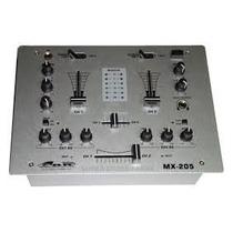Gbr Mx-205 Dj Mixer Consola De 3 Canales Eq Compacta Oferta