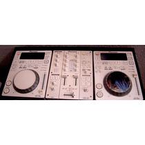 Mixer Pioneer Djm 350 Y Compacteras Pioneer Cdj 350 Edi Limt