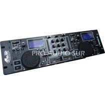 Mixer Dj Gbr Control 6 Usb Reproductor Mp3 Controlador