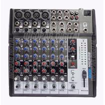 Consola Mixer Moon Mc 802 8 Canales