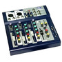 Consola Mixer L&t Lt4 4 Canales ( 2 Mono/ 2 Stereo )