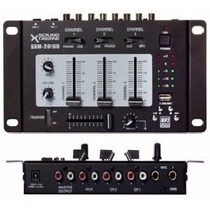 Consola Mixer Dj Estereo 4 Canales Sxm 2010 Usb Envio Gratis