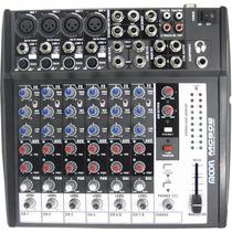 Consola Profecional Mixer Moon Mc802 8 Canales Fgl