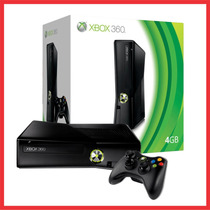 Xbox 360 Slim Flasheada Rgh 4gb+lee Todo+varios Regalos