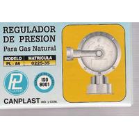 Regulador De Gas 6m3 4 Bar Con Flexible