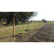 Poste Quebracho Blanco 3 X3 X2.20m -oferta-