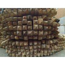 Postes Quebracho Blanco 4 X4 X2.20m Super Oferta